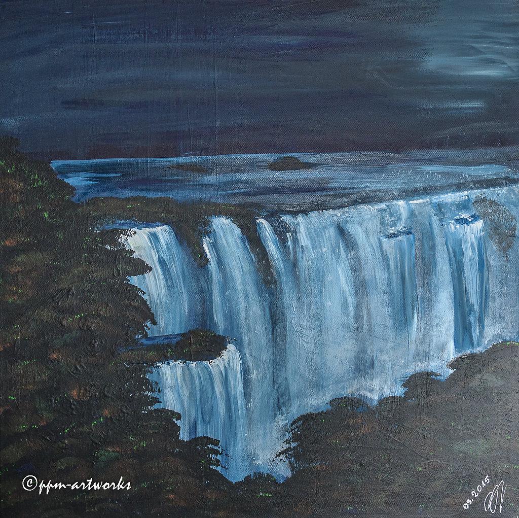 Iguazifälle bei Vollmond